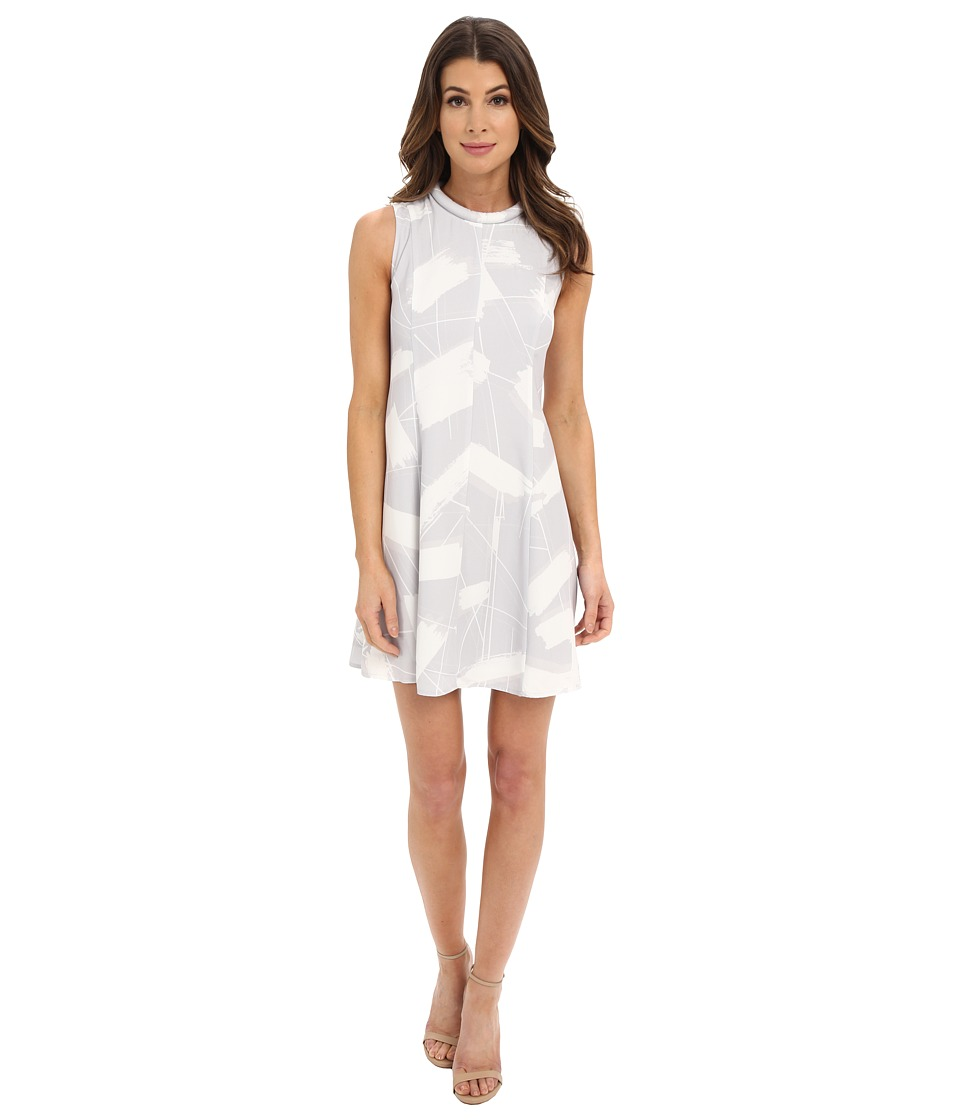 KEEPSAKE THE LABEL - Sun Up Mini Dress (Brush Stroke Print) Women's Dress