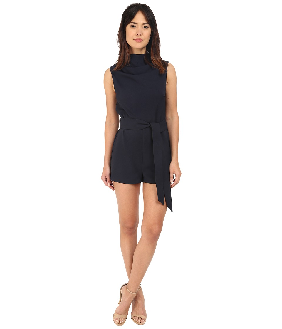KEEPSAKE THE LABEL - Essence Romper (Navy) Women's Jumpsuit & Rompers One Piece