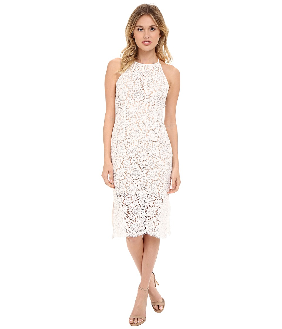 KEEPSAKE THE LABEL - Let It Happen Lace Dress (Ivory) Women's Dress