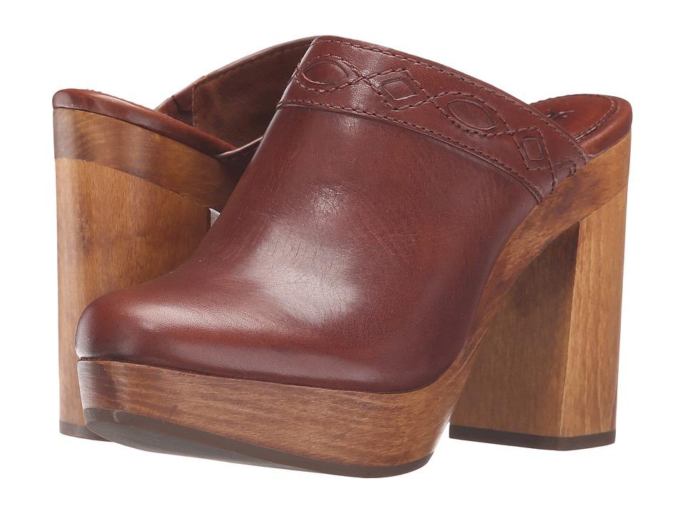 Frye - Emily Clog (Redwood Smooth Vintage Leather) Women's Clog Shoes