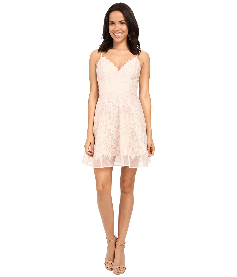 KEEPSAKE THE LABEL - Sundream Lace Mini Dress (Shell) Women's Dress