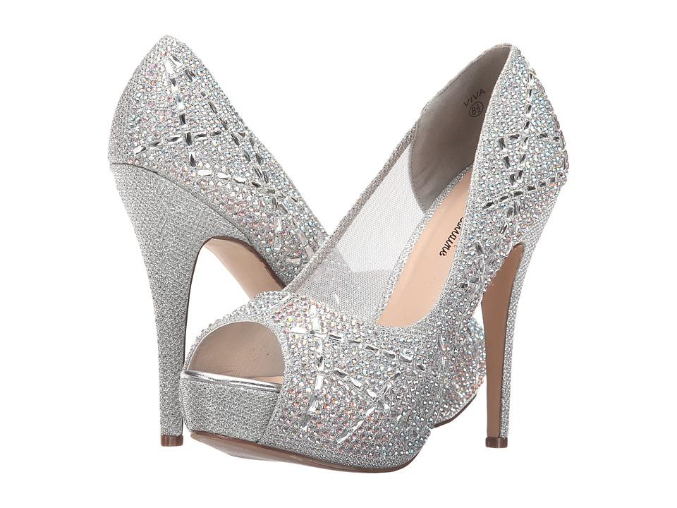 Lauren Lorraine - Viva (Silver) High Heels