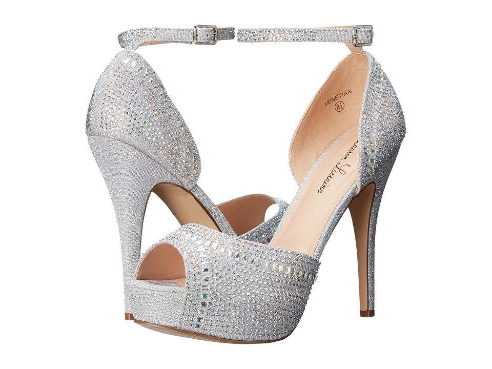 Lauren Lorraine - Venetian (Silver) High Heels