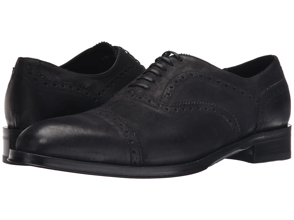 Kenneth Cole Black Label - Upper East (Black) Men's Shoes