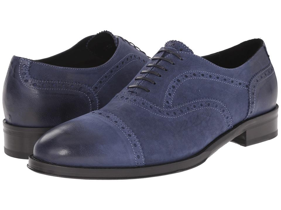 Kenneth Cole Black Label - Upper East (Blue) Men's Shoes