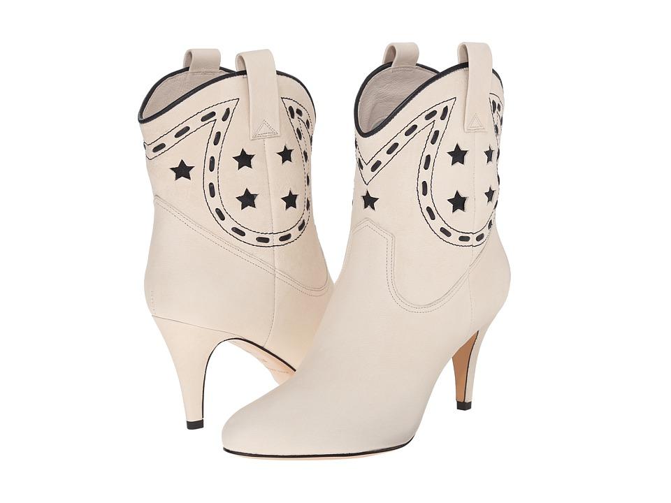 Marc Jacobs Georgia Cowboy Boot (Ivory) Women