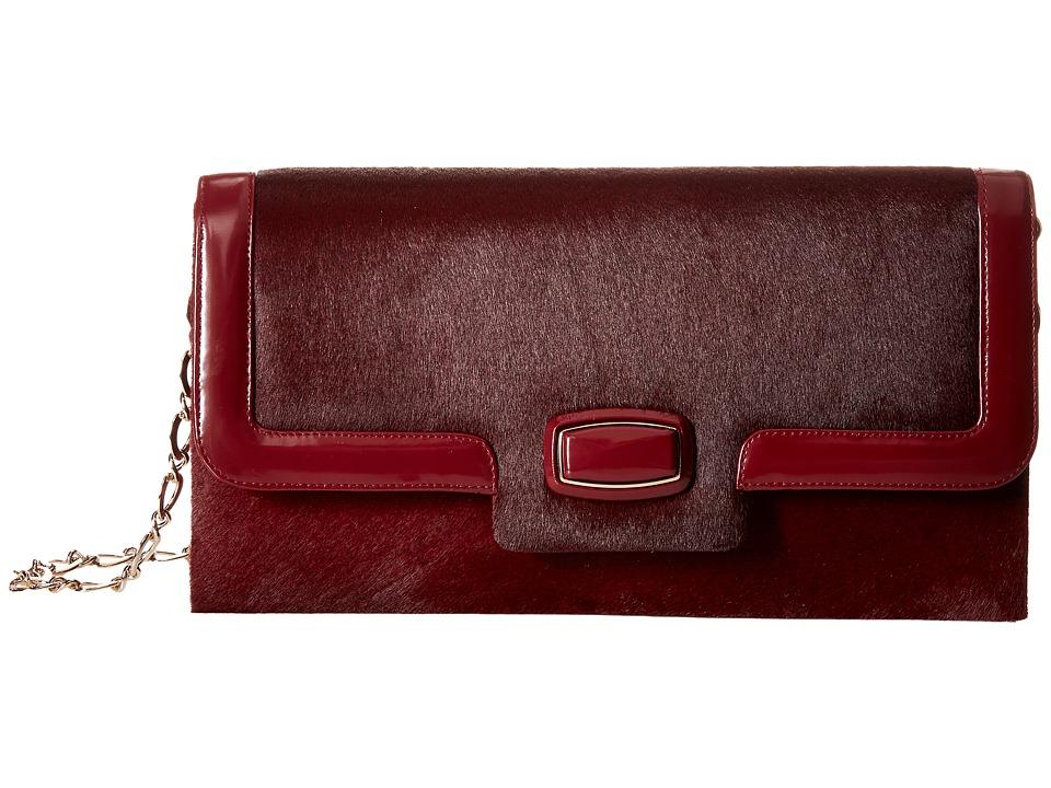 Oscar de la Renta - Day To Evening (Bordeaux Pony) Handbags