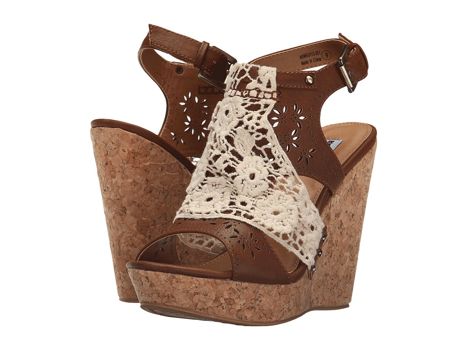 Not Rated - Candace (Tan) Women's Wedge Shoes