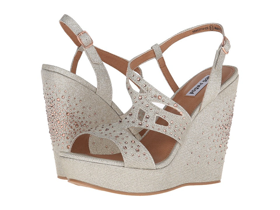 Not Rated - Hayman (Nude) Women's Wedge Shoes