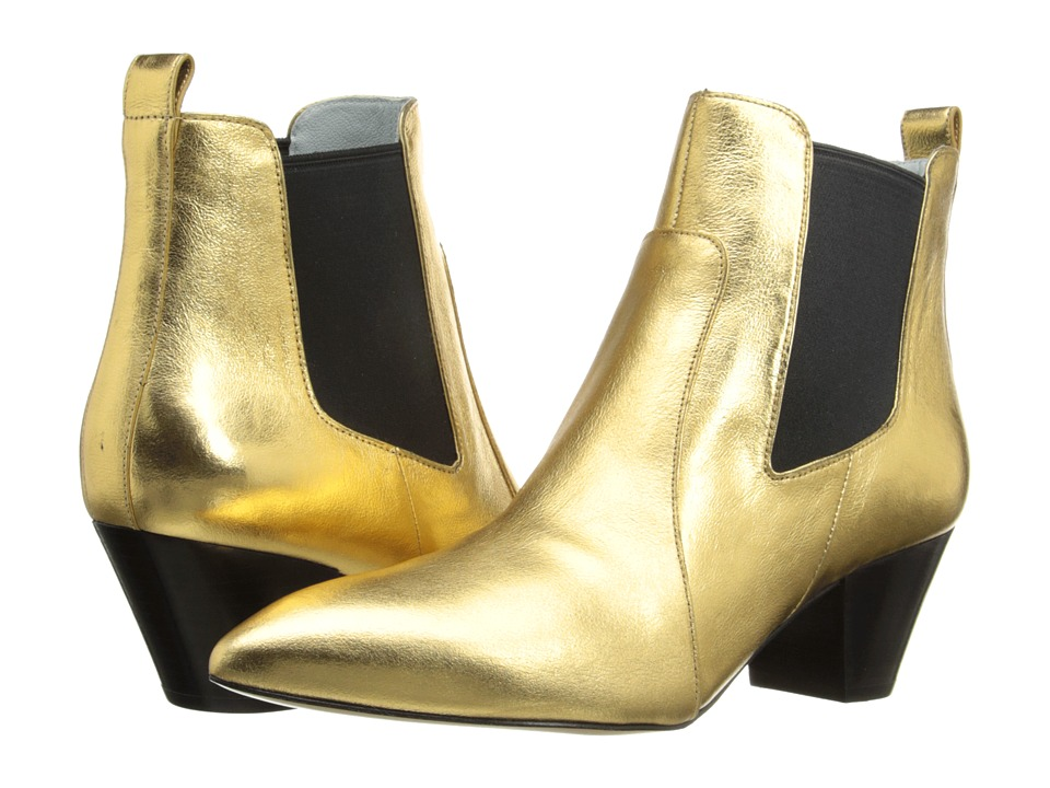 Marc Jacobs - Kim Chelsea Boot (Gold) Women's Boots