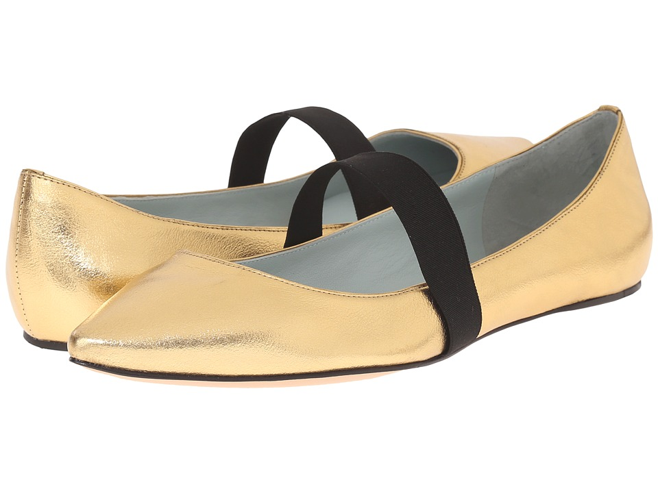 Marc Jacobs - Halsey Pointy Ballerina (Gold) Women's Ballet Shoes