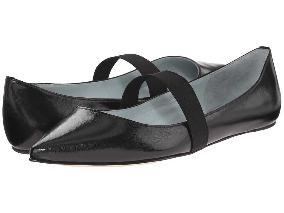 Marc Jacobs Halsey Pointy Ballerina Black Womens Ballet Shoes