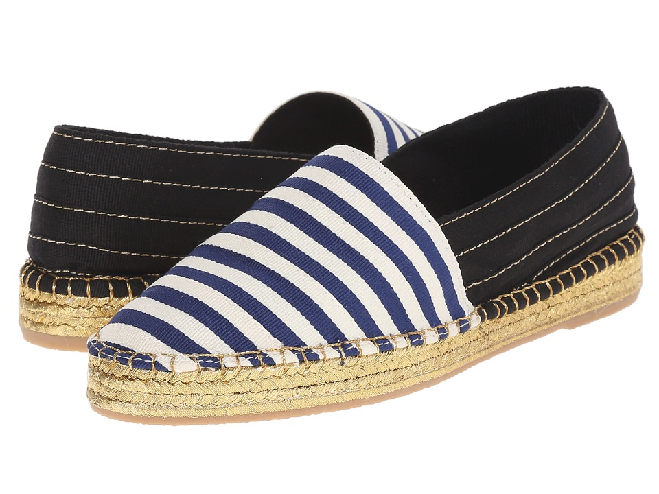 Marc Jacobs - Sienna Flat Espadrille (Navy/White) Women's Flat Shoes