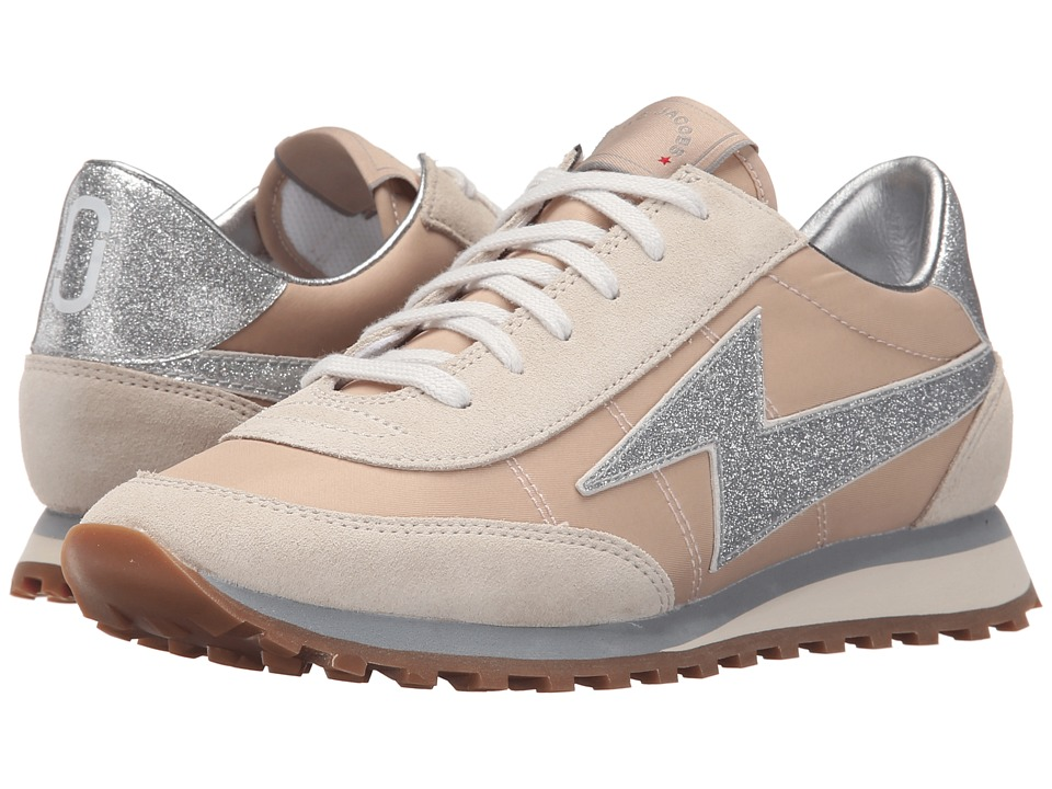 Marc Jacobs - Astor Lightning Bolt Sneaker (Nude) Women's Lights Shoes