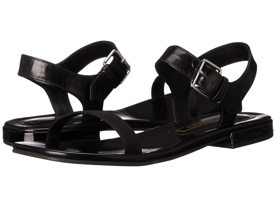 Marc Jacobs Elizabeth Flat Sandal (Black) Women