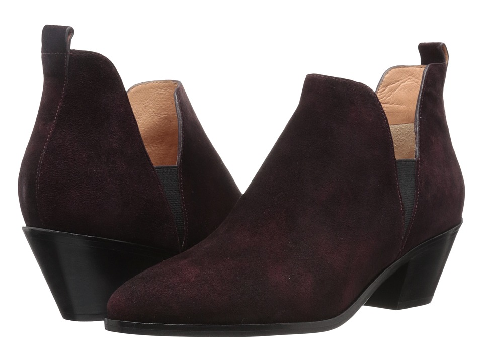 Sigerson Morrison - Belin (Bordo Suede) Women's Shoes