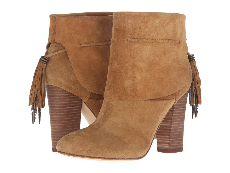 Sigerson Morrison - Ferg (Caramel Suede) Women's Shoes