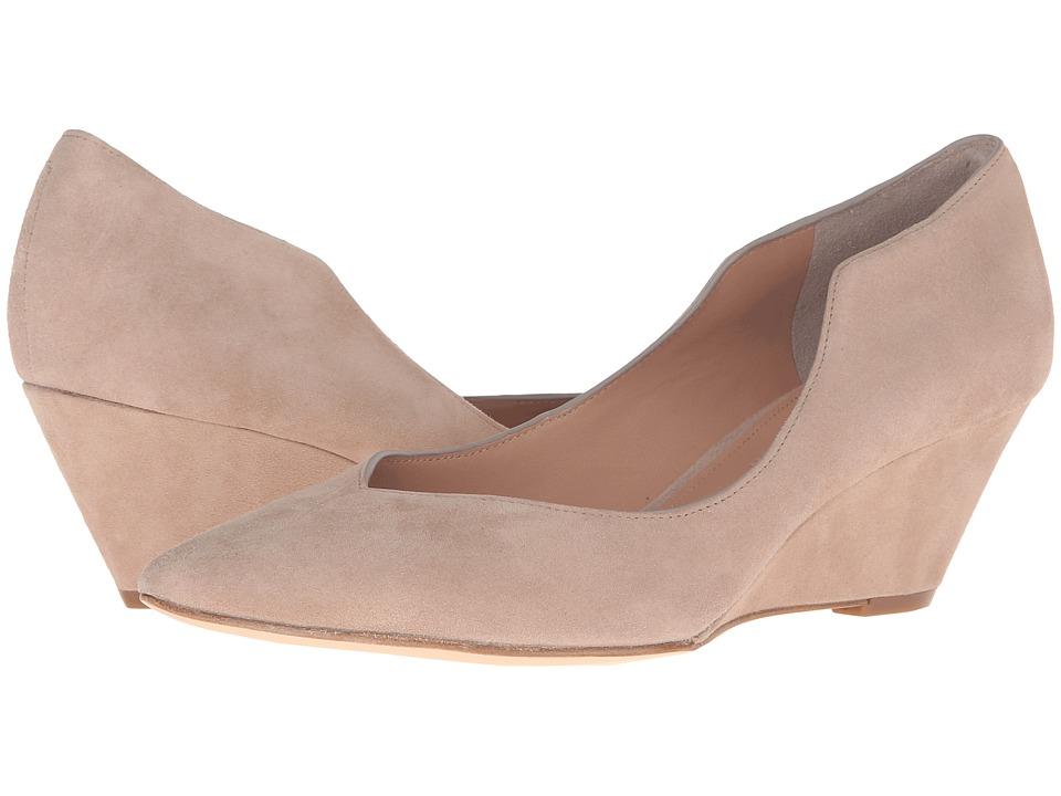 Sigerson Morrison - Westun (Dark Beige Suede) Women's Shoes