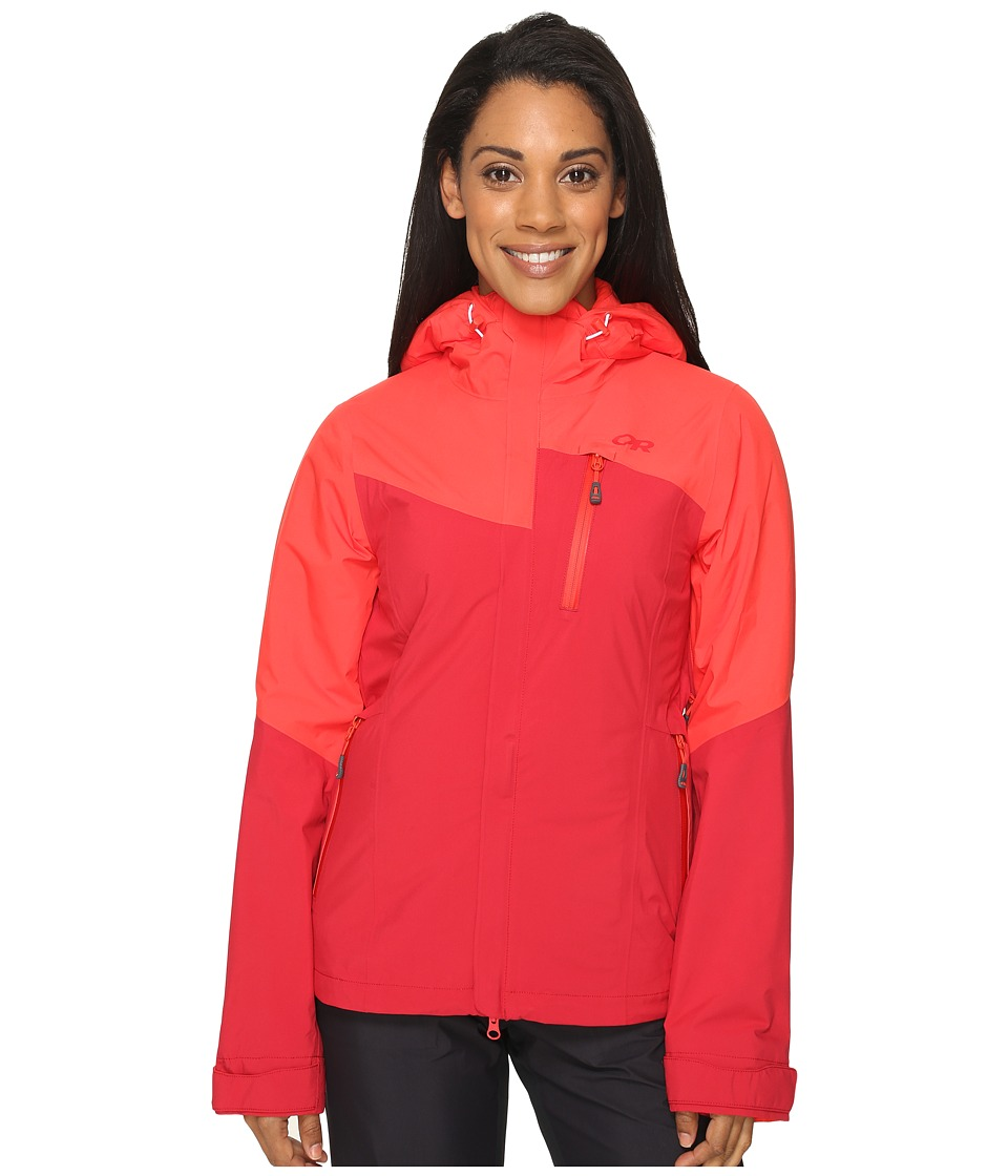 Outdoor Research - Offchute Jacket (Flame/Scarlet) Women's Coat