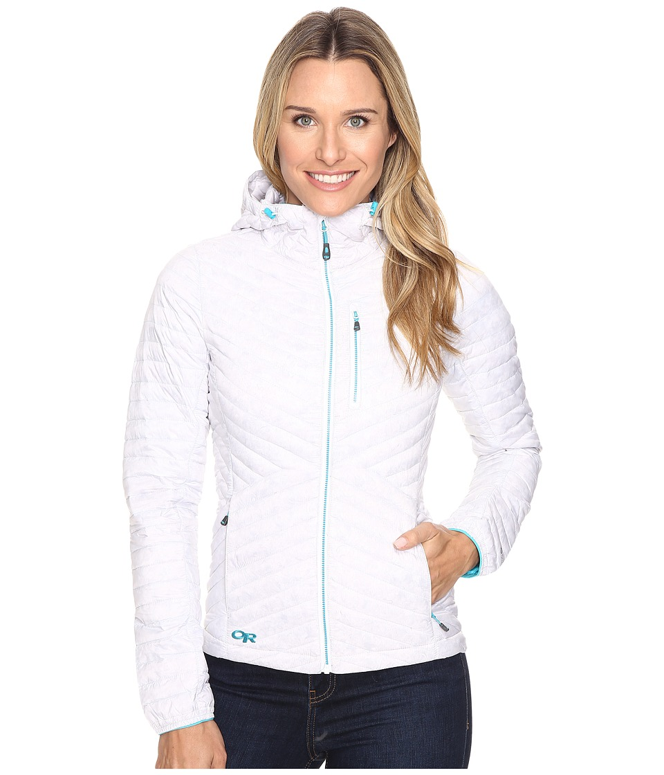 Outdoor Research - Verismo Hooded Jacket (White) Women's Coat