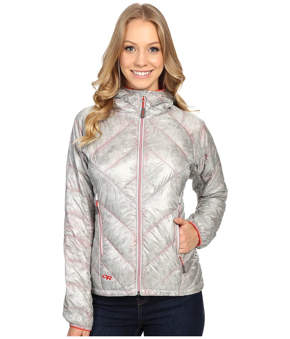 Outdoor Research - Filament Hooded Jacket (Alloy/Flame) Women's Coat