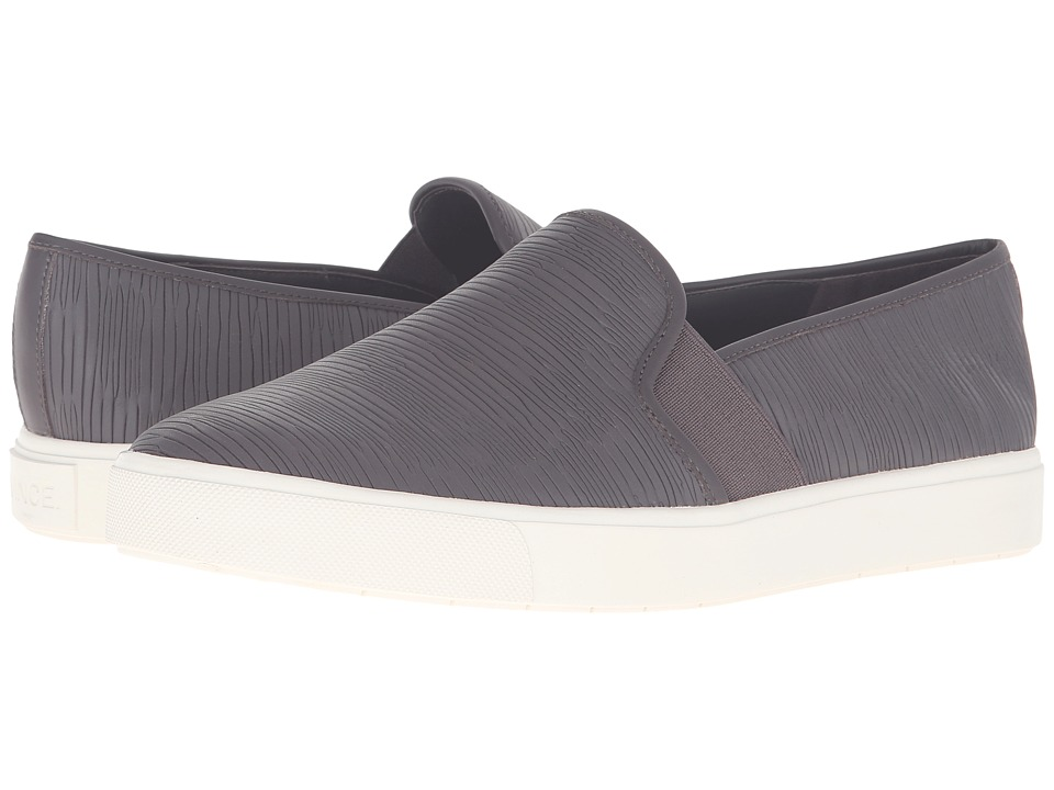 Vince - Blair 5 (Darksmoke Calf Leather) Women's Slip on Shoes