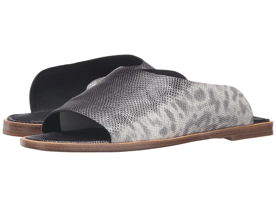 Vince - Lynnis (Silvergrey Speckled Lizard Print Leather) Women's Shoes