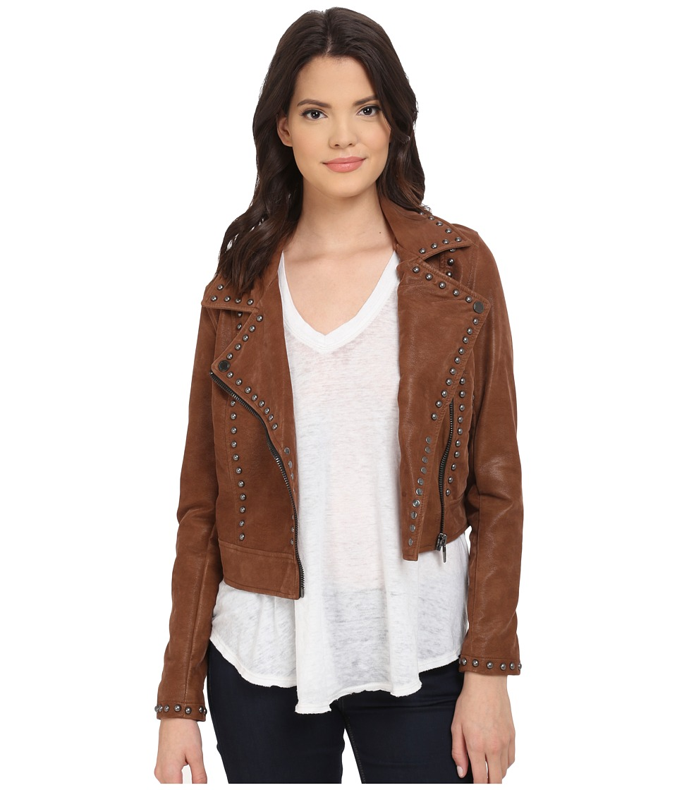 Blank NYC - Rocky Rode Jacket (Brown) Women's Coat