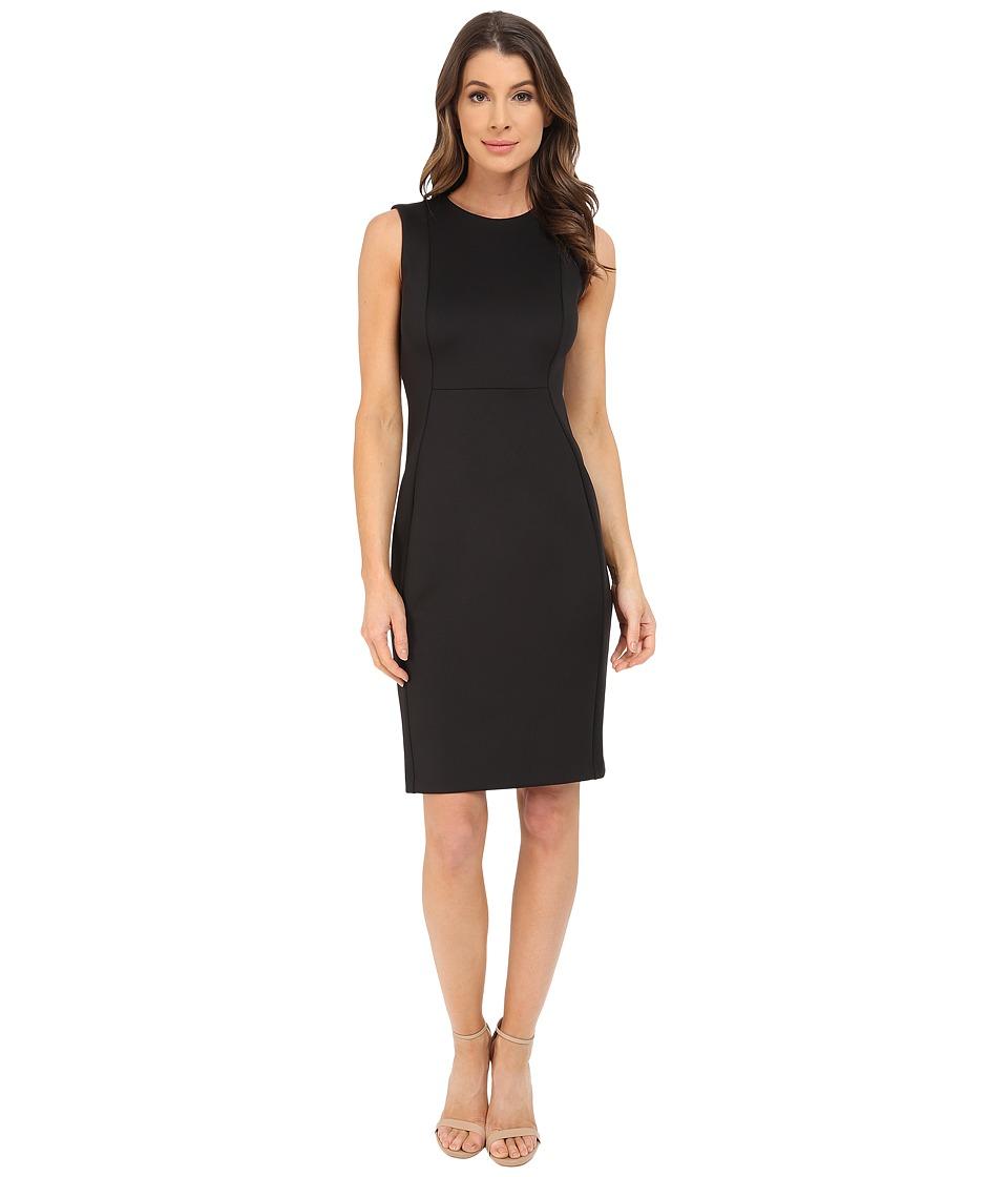 Calvin Klein - Sleeveless Sheath Dress CD6M1A00 (Black) Women's Dress