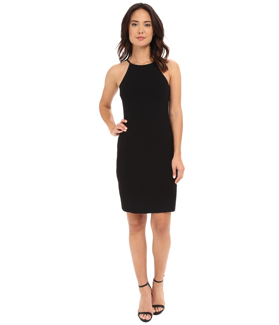 Calvin Klein - Halter Neck Straight Dress CD6B1V3D (Black) Women's Dress