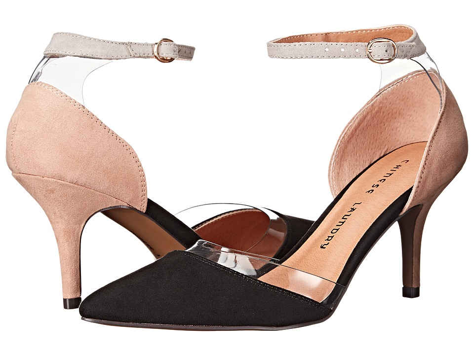 Chinese Laundry - Only You (Black/Nude) High Heels