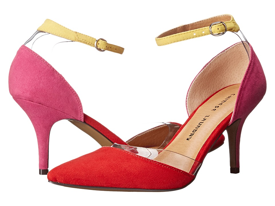 Chinese Laundry - Only You (Red/Fuchsia) High Heels