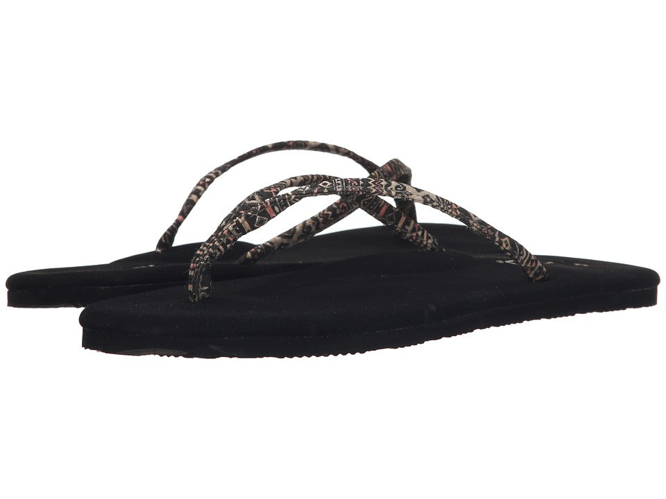 Flojos - Lulu (Black) Women's Sandals