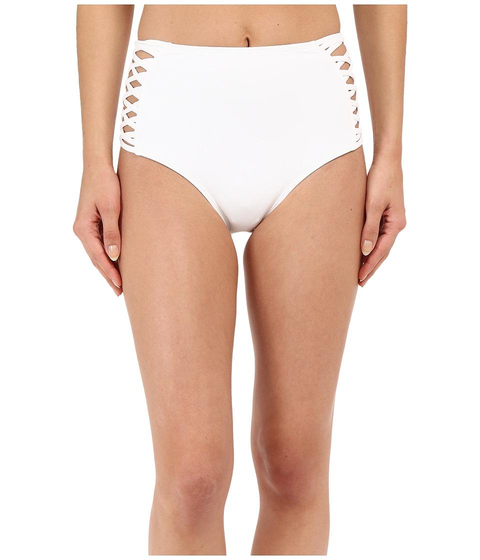L*Space - Tigress Classic Bottom (White) Women's Swimwear