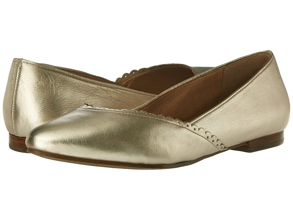 Jack Rogers - Caroline (Platinum) Women's Flat Shoes