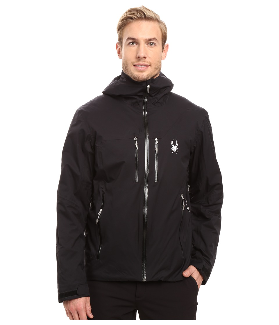 Spyder - Pryme Jacket (Black/Black) Men's Coat