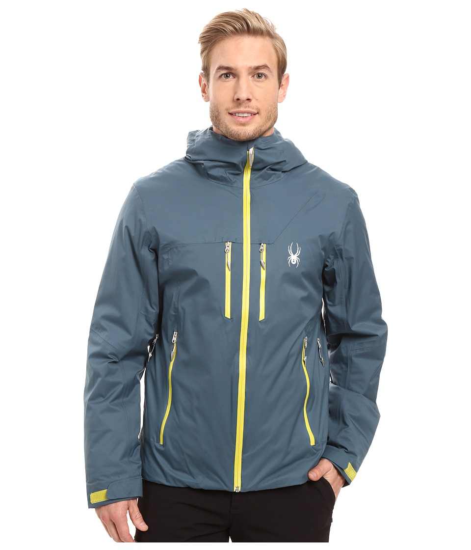 Spyder - Pryme Jacket (Union Blue/Sulfur) Men's Coat
