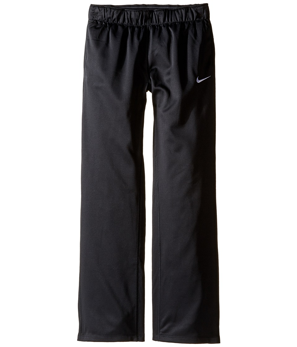 Nike Kids - Therma All Time Pant (Little Kid/Big Kid) (Black/White) Girl's Casual Pants