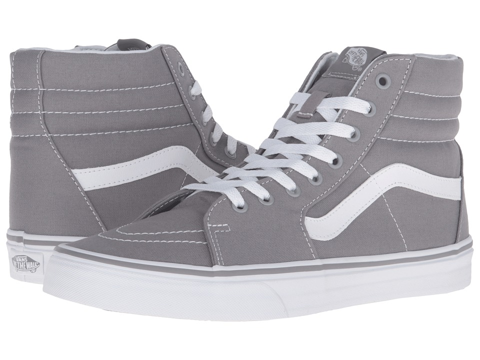 Vans - SK8-Hi ((Canvas) Frost Gray) Skate Shoes