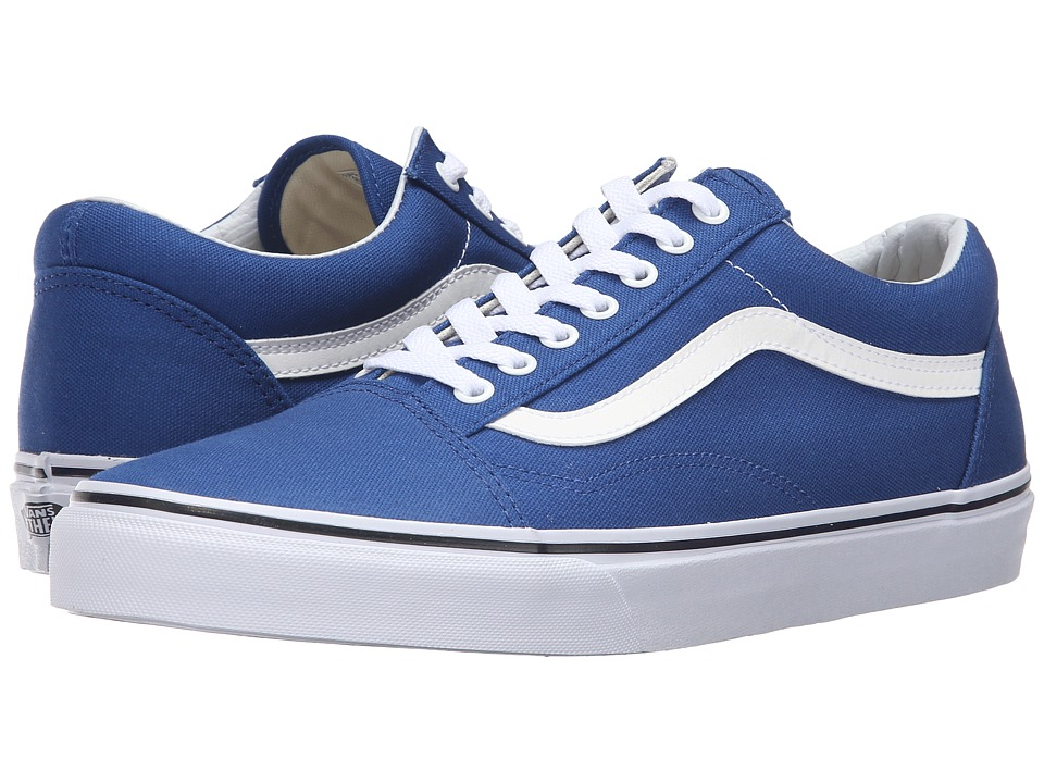 Vans - Old Skool ((Canvas) True Blue) Skate Shoes