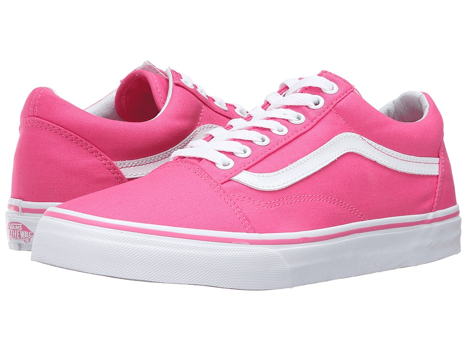 Vans - Old Skool ((Canvas) Fandango Pink) Skate Shoes