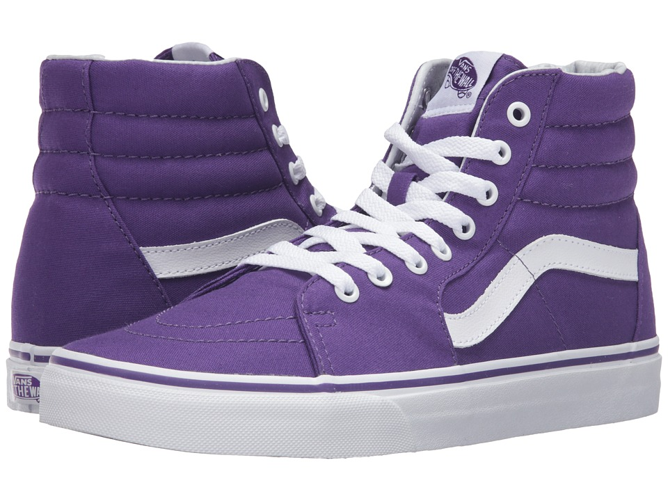 Vans - SK8-Hi ((Canvas) Imperial Purple) Skate Shoes