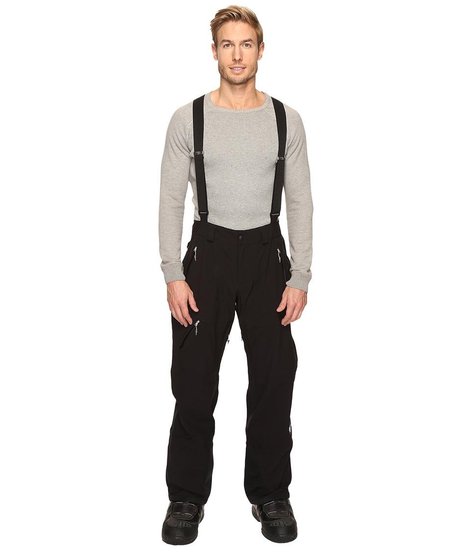 Spyder - Turret Shell Pants (Black/Black) Men's Outerwear