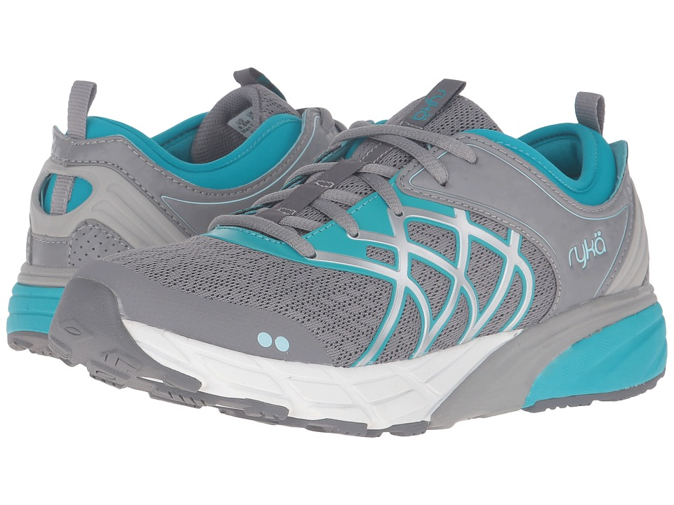 Ryka Nalu (Frost Grey/Mint Ice/Bluebird/Chrome Silver) Women