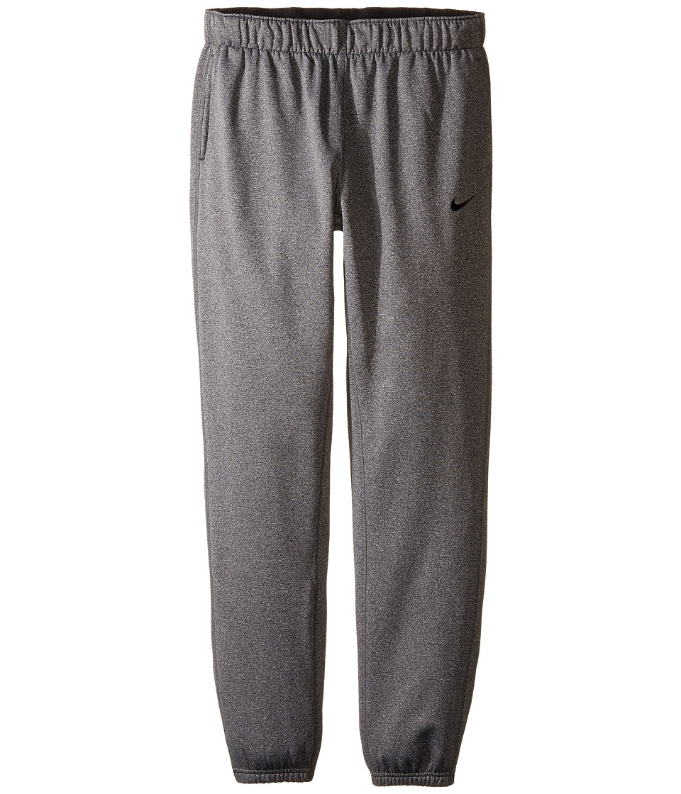 Nike Kids - Therma Training Pant (Little Kid/Big Kid) (Black Heather/Black/Black) Girl's Casual Pants