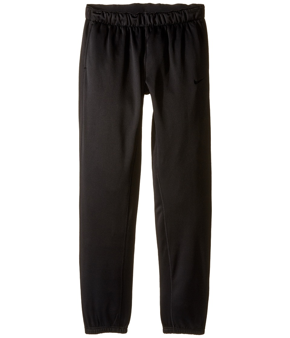 Nike Kids - Therma Training Pant (Little Kid/Big Kid) (Black/Black/Black) Girl's Casual Pants