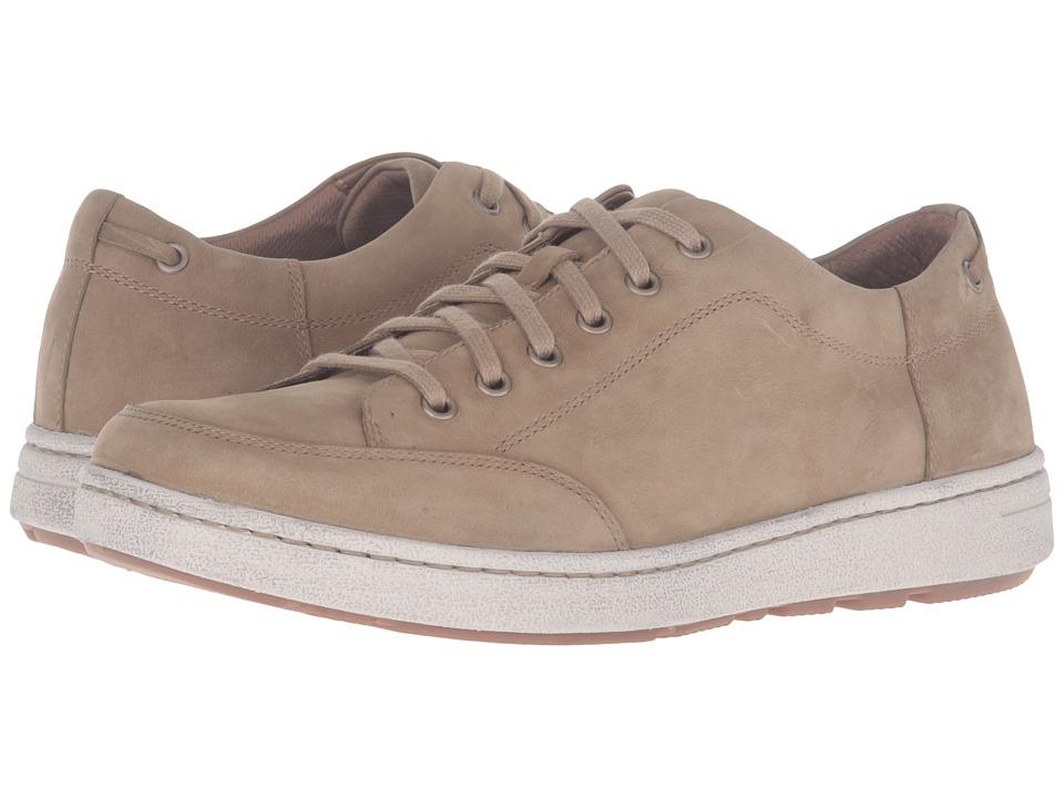 Dansko - Vaughn (Khaki Milled Nubuck) Men's Lace up casual Shoes