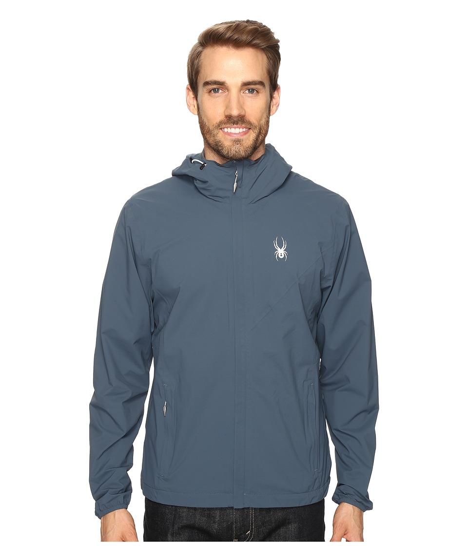 Spyder - Anti-Panic Shell Jacket (Union Blue) Men's Coat
