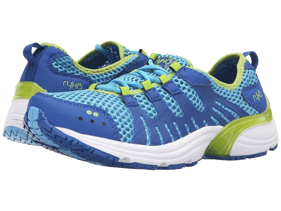 Ryka Hydro Sport 2 (Ethereal Blue/Royal Blue/Lime Blaze) Women