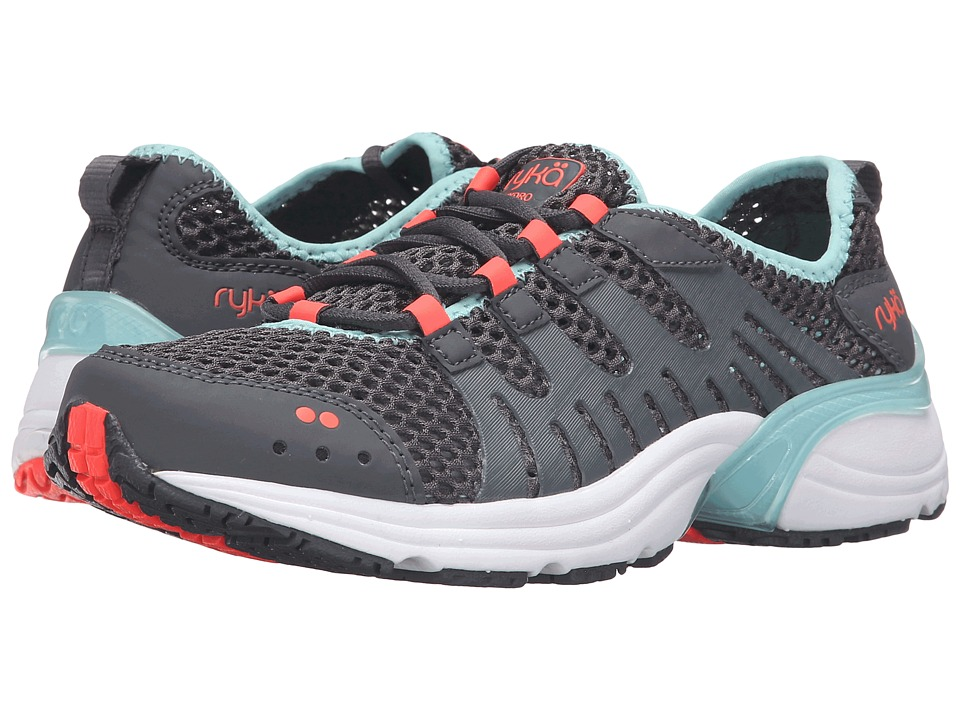 Ryka - Hydro Sport 2 (Iron Grey/Eggshell Blue/Electric Coral) Women's Shoes